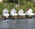 Dom nad jeziorem, Norwegia