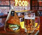Burger i piwo