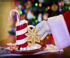Santa Claus i słodycze