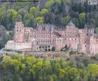 Układanka Zamek w Heidelbergu, Niemcy
