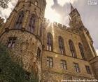Detal Hohenzollern Castle, Niemcy
