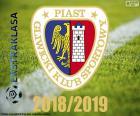 GKS Piast Gliwice jest nowym mistrzem polskiej ekstraklasie 2018-2019, w pierwszej ligi zawodowej piłki nożnej w Polsce