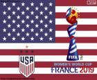 Stany Zjednoczone Ameryki, mistrzów świata w 2019 r.