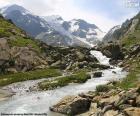Układanka Góry Susten, Szwajcaria