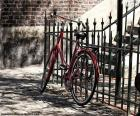 Układanka Czerwony rower