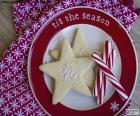 Ciasteczka świąteczne i laski