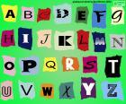 Układanka Alfabet angielski