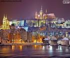 Praga nocą, Czechy