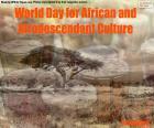 Układanka Światowy Dzień Kultury Afrykańskiej i
