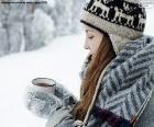 Gorący napój na zimno