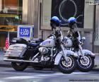 Nowy Jork Policja Motocykle