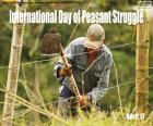 Międzynarodowy Dzień Walki Chłopskiej
