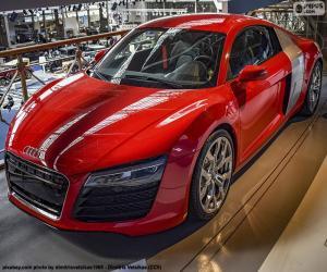 Układanka Red Audi R8