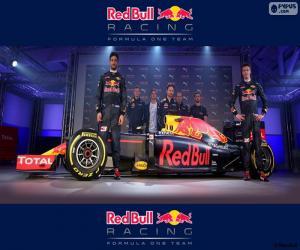 Układanka Red Bull Racing 2016