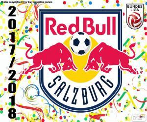 Układanka Red Bull Salzburg, Bundesliga 2017-18