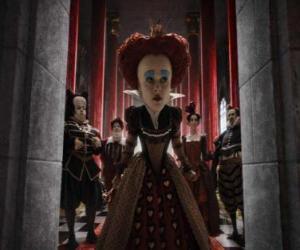 Układanka Red Queen (Helena Bonham Carter) jest despotyczny władca Underworld.