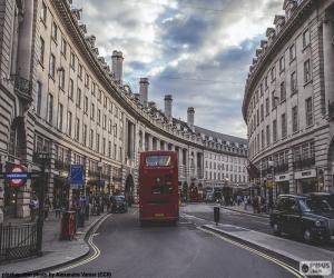 Układanka Regent Street, London