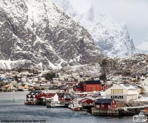 Układanka Reine, Norwegia