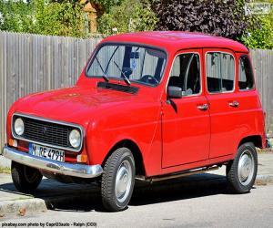 Układanka Renault 4