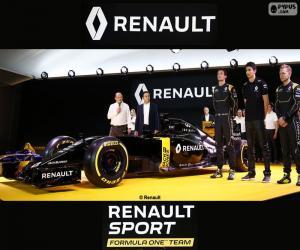 Układanka Renault Sport F1 2016