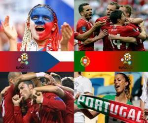 Układanka Republika Czeska — Portugalia, ćwierćfinałowe, Euro 2012