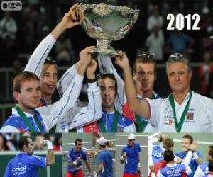 Układanka Republika Czeska, mistrz Copa Davis 2012