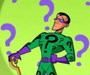 Układanka Riddler lub Nigma jest supervillain obsesję na punkcie zagadek i wrogiem Batmana
