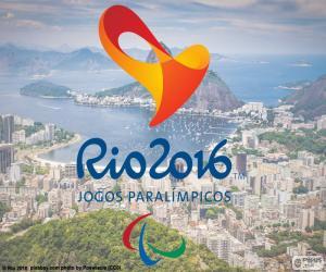 Układanka Rio 2016 Paraolimpijskich logo