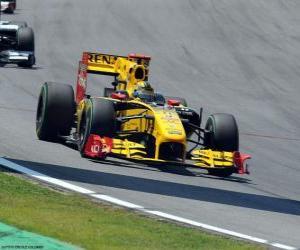 Układanka Robert Kubica - Renault - Interlagos 2010