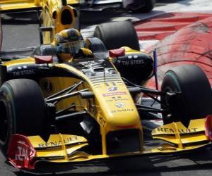 Układanka Robert Kubica - Renault - Monza 2010