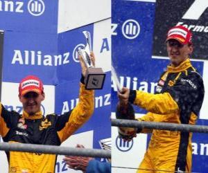 Układanka Robert Kubica - Renault - Spa-Francorchamps, Belgia Grand Prix 2010 (3 pozycję)