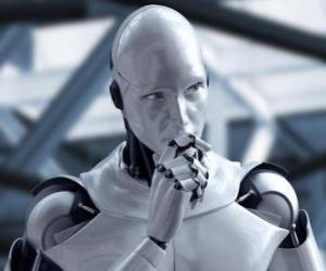 Układanka Robot Alien