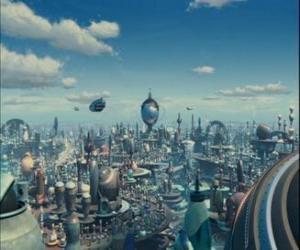 Układanka Robot City