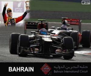 Układanka Romain Grosjean - Lotos - 2013 Grand Prix Bahrajnu, 3 sklasyfikowane