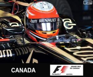 Układanka Romain Grosjean - Lotos - Circuit Gilles Villeneuve, Montreal, 2013