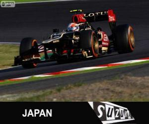 Układanka Romain Grosjean - Lotos - Grand Prix Japonii 2013, 3 sklasyfikowane