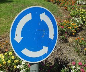 Układanka Rondo znak