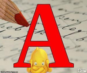 Układanka Rosyjski litery А
