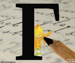 Układanka Rosyjski litery Г
