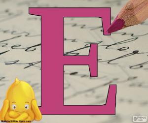 Układanka Rosyjski litery Е