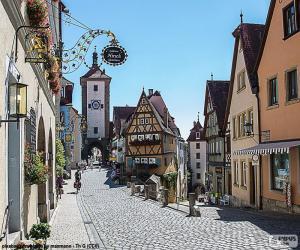 Układanka Rothenburg, Niemcy