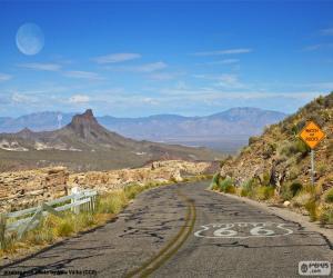 Układanka Route 66, Arizona