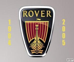 Układanka Rover logo zostało Zjednoczone Królestwo producent samochodów