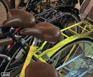 Układanka Rowery dla miasta