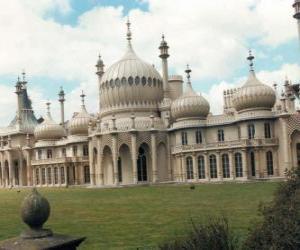 Układanka Royal Pavilion, Anglia