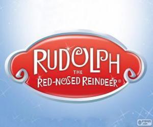 Układanka Rudolf czerwononosy Renifer logo