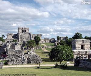 Układanka Ruiny Tulum, Meksyk