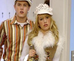 Układanka Ryan Evans (Lucas Grabeel), Sharpay Evans (Ashley Tisdale), działające