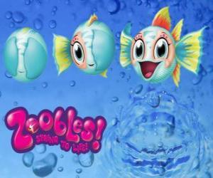 Układanka Ryby, Zoobles z Seagonia