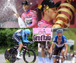 Układanka Ryder Hesjedal, zwycięzca Giro Włochy 2012